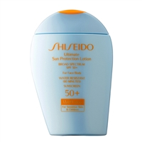 Shiseido Wetforce Ultimate Sun Protection Lotion for Sensitive Skin & Children SPF50 3.3oz / 100ml