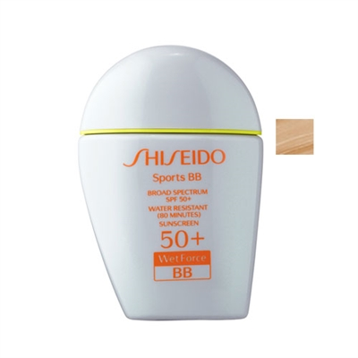 Shiseido Wetforce Sports BB SPF50+ Medium 1oz / 30ml