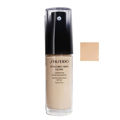 Shiseido Synchro Skin Glow Luminizing Fluid Foundation SPF20 Neutral 2 1oz / 30ml