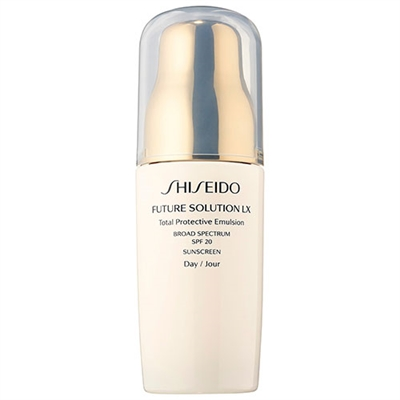 Shiseido Future Solution LX Total Protective Emulsion SPF20 2.5oz / 75ml