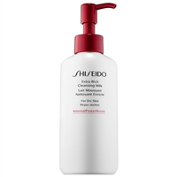 Shiseido Extra Rich Cleansing Milk Dry Skin 4.2oz / 125ml