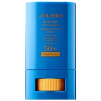 Shiseido Wetforce Clear Stick UV Protector SPF50+ 0.52oz / 15g