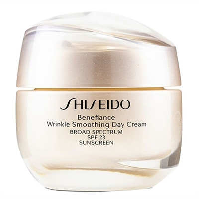 Shiseido Benefiance Wrinkle Smoothing Day Cream SPF 23 1.8oz / 50ml