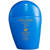 Shiseido Ultimate Sun Protector Lotion SynchroShield SPF50 For Face & Body 1.6oz / 50ml