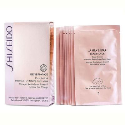 Shiseido Benefiance Pure Retinol Intensive Revitalizing Face Mask 8 Packettes