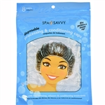 Spa Savvy Disposable Processing & Conditioning Caps 8 Piece
