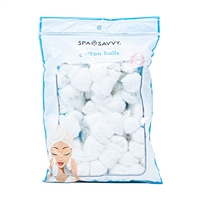 Spa Savvy Soft and Gentle Cotton Balls 100 Piece