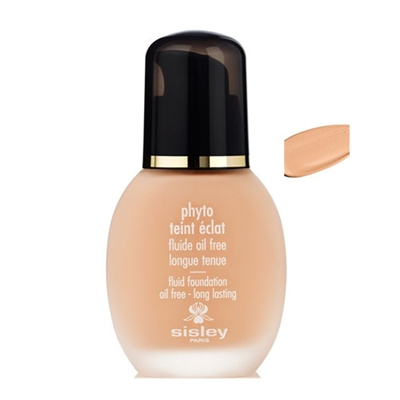 Sisley Phyto Teint Eclat Oil-Free Fluid Foundation #2+ Sand 1.0oz / 30ml