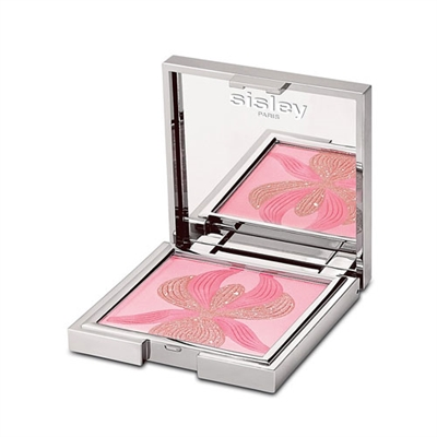 Sisley L'orchidee Rose Highlighter Blush With White Lily 0.52oz / 15g