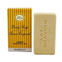 The Art of Shaving Body Soap Lemon Essential Oil 7.0oz / 198g