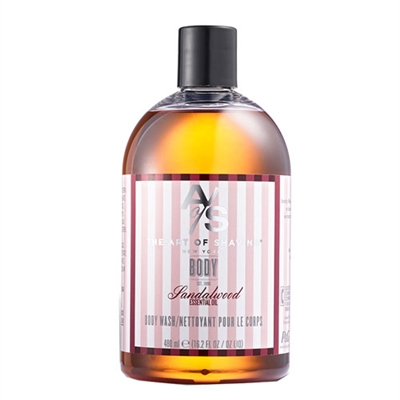 The Art of Shaving Body Wash Sandalwood 16.2oz / 480ml