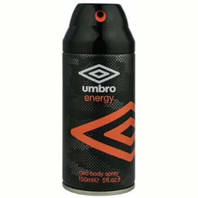 Umbro Energy Deodorant Body Spray 5oz / 150ml