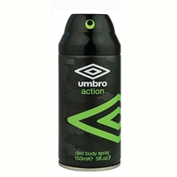 Umbro Action Deodorant Body Spray 5oz / 150ml