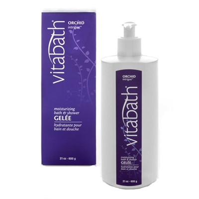Vitabath Orchid Intrigue Moisturizing Bath & Shower Gelee 21oz / 600g