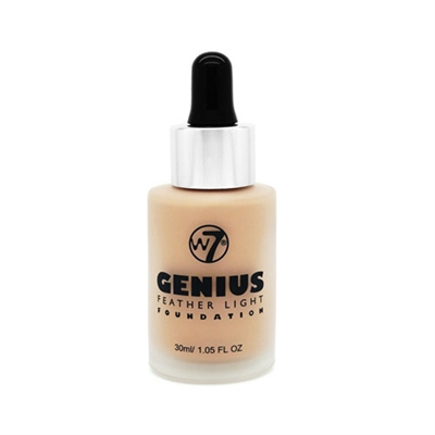 W7 Genius Feather Light Foundation Sand Beige 1.05oz / 30ml