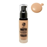 W7 It's A Matte Made In Heaven Foundation Natural Tan 1.05oz / 30ml