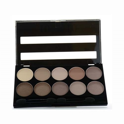 W7 10 Out Of 10 Browns Eyeshadow Palette 0.35oz / 10g