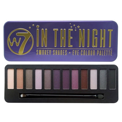 W7 In The Night: Smokey Shades Eye Colour Palette 0.551oz / 15.6g