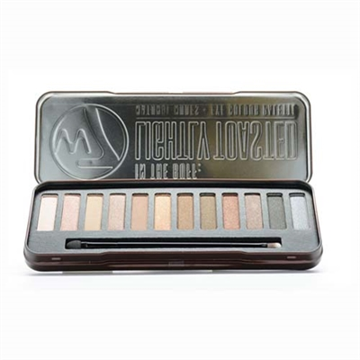 W7 In The Buff: Natural Nudes Eye Colour Palette 0.551oz / 15.6g