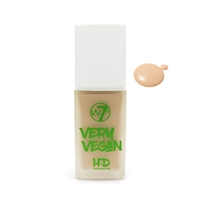 W7 Very Vegan HD Foundation Fresh Beige 1.12oz / 32ml