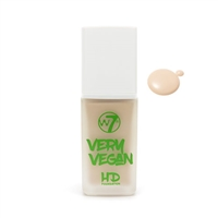 W7 Very Vegan HD Foundation Bare Buff 1.12oz / 32ml
