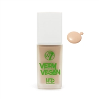 W7 Very Vegan HD Foundation Sand Beige 1.12oz / 32ml