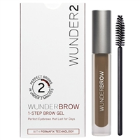 Wunder2 WunderBrow 1-Step Brow Gel Brunette 0.105oz / 3g