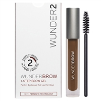 Wunder2 WunderBrow 1-Step Brow Gel Auburn 0.105oz / 3g