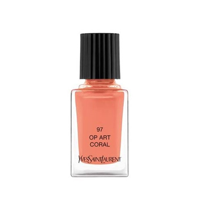 Yves Saint Laurent La Laque Couture 97 Op Art Coral Tester 0.34oz / 10ml