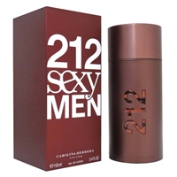 212 Sexy by Carolina Herrera for Men 3.4 oz Eau De Toilette Spray