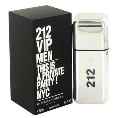212 VIP by Carolina Herrera for Men 1.7 oz Eau De Toilette Spray