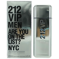 212 VIP by Carolina Herrera for Men 3.4 oz Eau De Toilette Spray