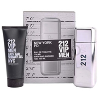 212 VIP by Carolina Herrera for Men 2 Piece Set