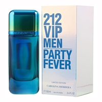 212 VIP Party Fever by Carolina Herrera for Men 3.4oz Eau De Toilette Spray