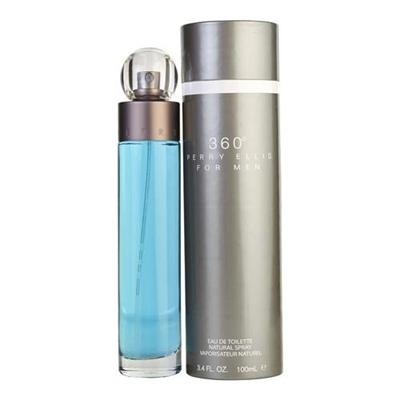 360 by Perry Ellis for Men 3.4 oz Eau De Toilette Spray