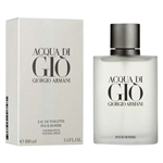 Acqua Di Gio by Giorgio Armani for Men 3.4 oz Eau De Toilette Spray