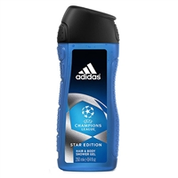 Adidas UEFA Champions League Star Edition Hair & Body Shower Gel for Men 8.4oz / 250ml