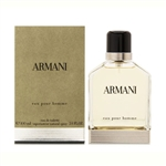 Armani Pour Homme by Giorgio Armani for Men 3.4 oz Eau De Toilette Spray