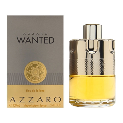 Azzaro Wanted by Loris Azzaro for Men 3.4oz Eau De Toilette Spray