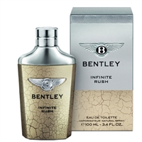 Infinite Rush by Bentley for Men 3.4oz Eau De Toilette Spray