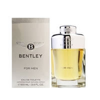 Bentley by Bentley for Men 3.4oz Eau De Toilette Spray