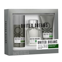 United Dreams by United Colors of Benetton for Men 3 Piece Set