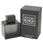 Seduction In Black by Antonio Banderas for Men 3.4 oz Eau De Toilette Spray