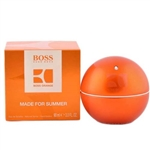 Boss In Motion Orange Made for Summer by Hugo Boss for Men 3.0 oz Eau De Toilette Spray