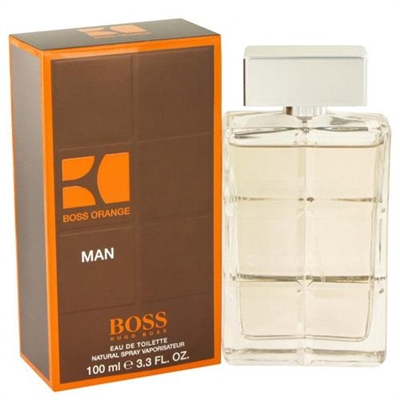 Boss Orange by Hugo Boss for Men 3.4 oz Eau De Toilette Spray