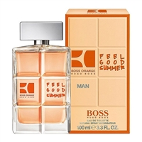 Boss Orange Feel Good Summer by Hugo Boss for Men 3.3oz Eau De Toilette Spray
