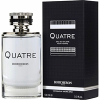 Quatre by Boucheron for Men 3.3oz Eau De Toilette Spray