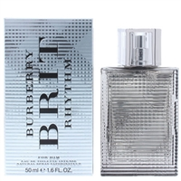 Brit Rhythm Intense by Burberry for Men 1.7oz Eau De Toilette Spray