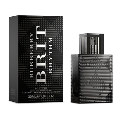 Brit Rhythm by Burberry for Men 1.0oz Eau De Toilette Spray