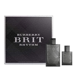 Burberry Brit Rhythm by Burberry for Men 2 Piece Set